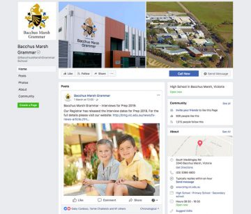 Bacchus Marsh Grammar - Official Facebook Page