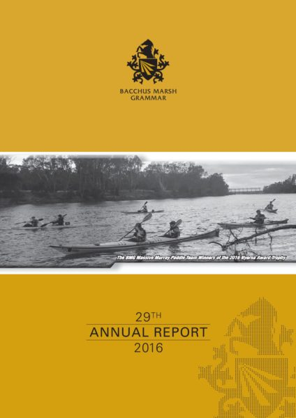 BMG 2016 Annual Report