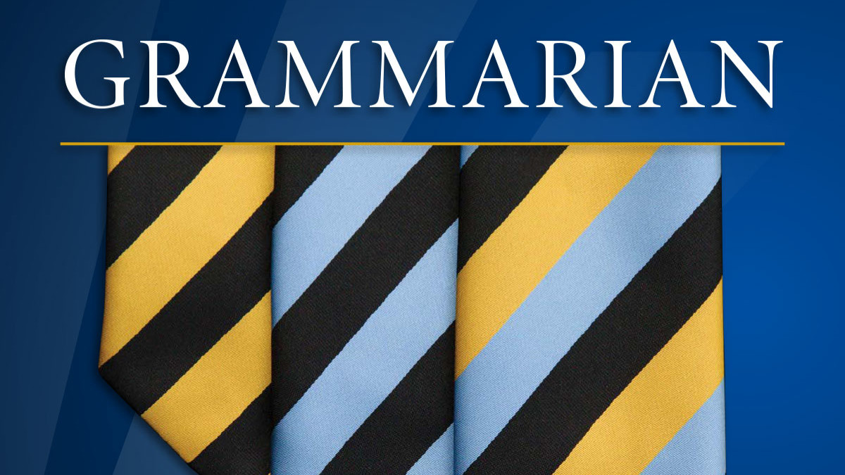 Grammarian - Issue 1, 2019